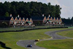 #93 Michael Shank Racing Acura NSX: Andy Lally, Katherine Legge, #3 Corvette Racing Chevrolet Corvette C7.R: Antonio Garcia, Jan Magnussen