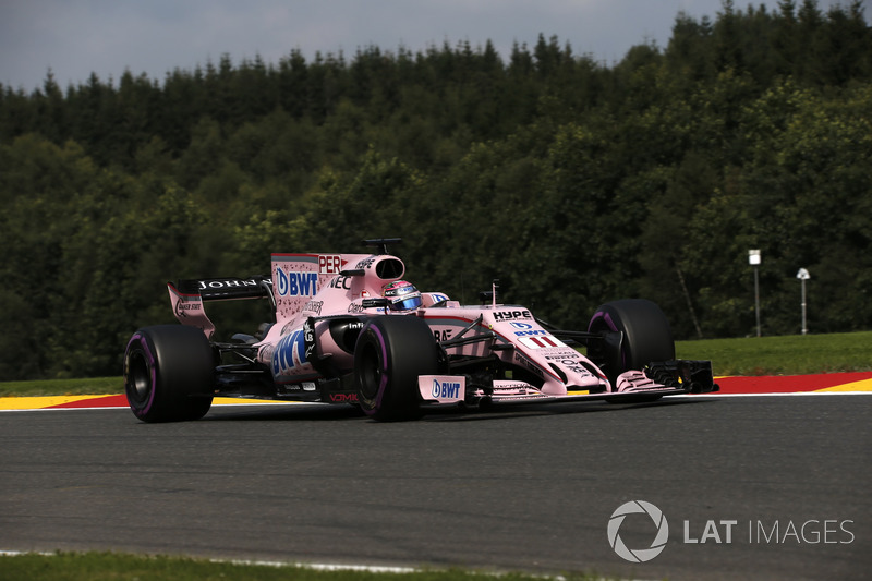 8: Sergio Perez, Sahara Force India VJM10