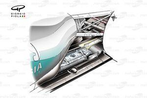 Mercedes W02 exhausts, Brazilian GP