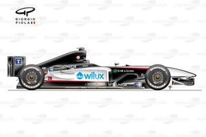 Minardi PS04B 2004 side view