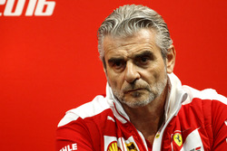 Press Conference: Maurizio Arrivabene, Team principal Ferrari