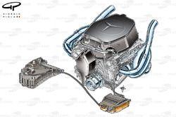 McLaren MP4-24 2009 KERS paketlemesi