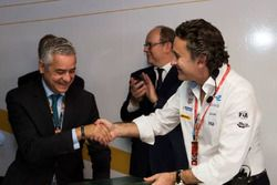 Said Mouline, AMEE, Alberto II di Monaco, Fondazione Alberto II di Monaco, e Alejandro Agag, CEO del