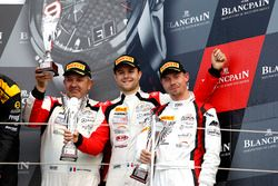Podio Pro-AM: al terzo posto #87 Akka ASP, Mercedes-AMG GT3: Jean-Luc Beaubelique, Jules Gounon, Nico Bastian