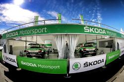 В расположении Škoda Motorsport