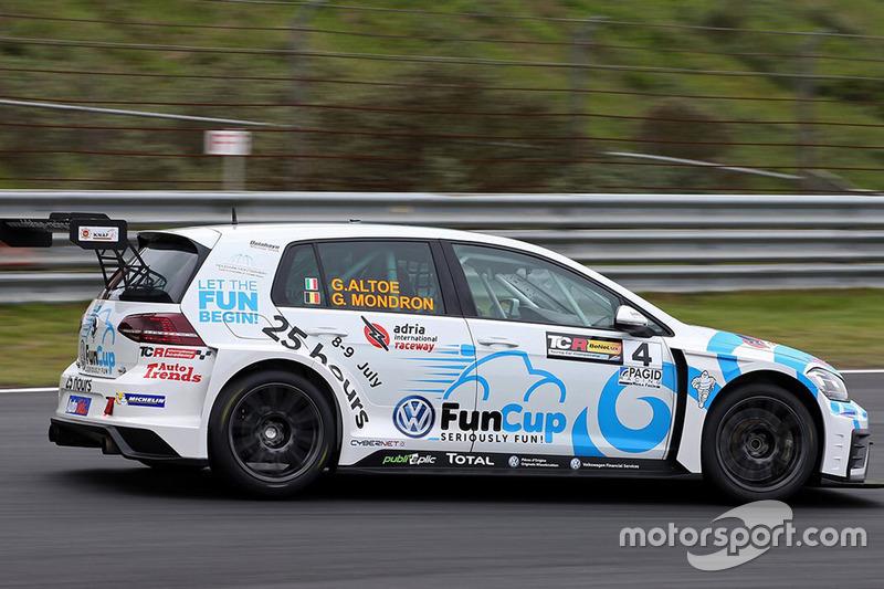 Guillaume Mondron e Giacomo Altoè, Delahaye Racing, Volkswagen Golf GTI TCR