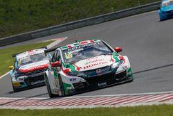 Tiago Monteiro, Honda Racing Team JAS, Honda Civic WTCC