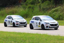 #1 Ali Başakinci, Opel Corsa Opc, #99 Ümit Ülkü, Opel Corsa Opc