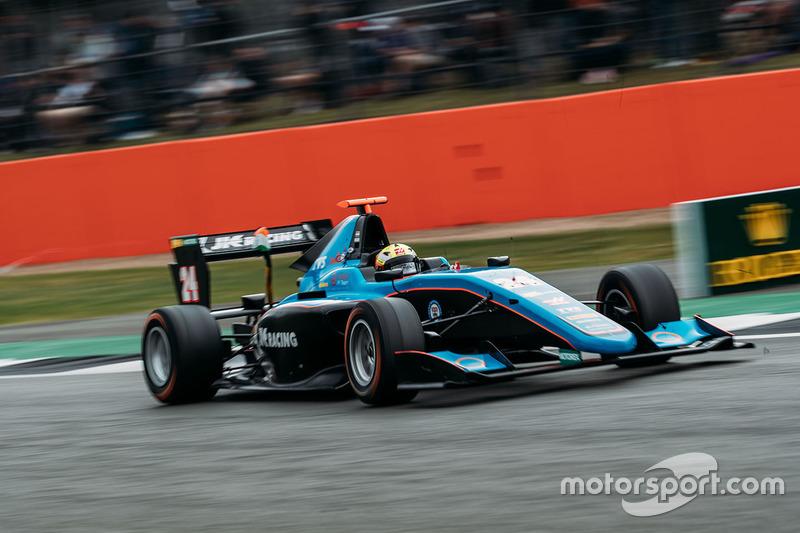 Arjun Maini (GP3 Hungary)