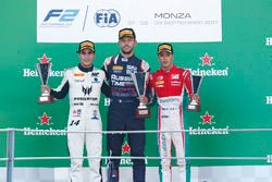 Podium: Luca Ghiotto, RUSSIAN TIME Sergio Sette Camara, MP Motorsport Antonio Fuoco, PREMA Powerteam