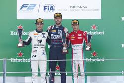 1. Luca Ghiotto, RUSSIAN TIME; 2. Sergio Sette Camara, MP Motorsport