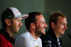 Conférence de presse : René Rast, Audi Sport Team Rosberg, Audi RS 5 DTM, Gary Paffett, Mercedes-AMG Team HWA, Mercedes-AMG C63 DTM, Maxime Martin, BMW Team RBM, BMW M4 DTM
