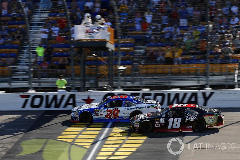 Ryan Preece - Xfinity Iowa - 0.054 margin of victory