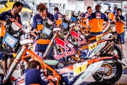 Meccanici Red Bull KTM Factory Racing