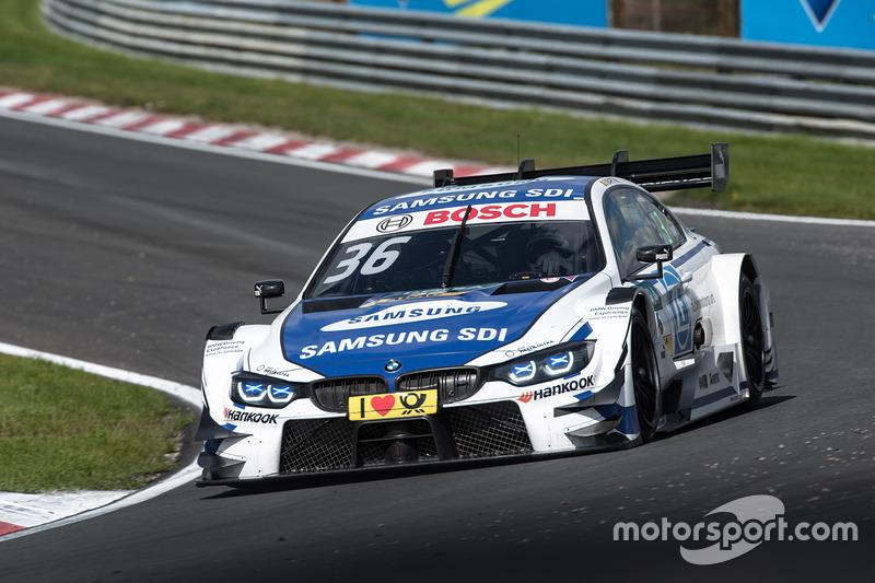 7. Maxime Martin, BMW Team RBM, BMW M4 DTM