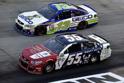 Грей Голдинг, Premium Motorsports Toyota и Ти Диллон, Germain Racing Chevrolet