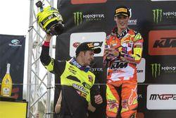 Jeremy Seewer, Suzuki; Jorge Prado, KTM