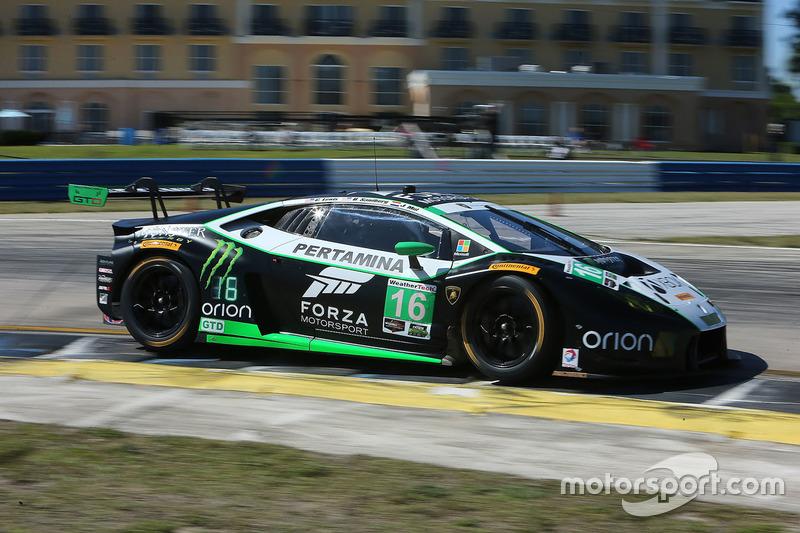11. GTD: #16 Change Racing, Lamborghini Huracan GT3