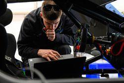 Preparación del equipo Chip Ganassi Racing de Ford Performance