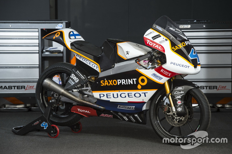 Bike von Patrik Pulkkinen, Peugeot MC Saxoprint