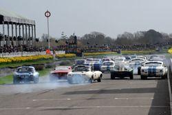 Graham Hill Trophy, Start, Martin Hunt, Jaguar