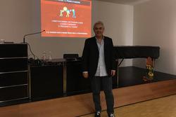 Luigi Mazzola all'OBV di Mendrisio