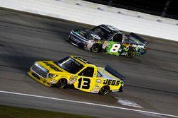 Cody Coughlin, ThorSport Racing Toyota and John Hunter Nemechek, SWM-NEMCO Motorsports Chevrolet