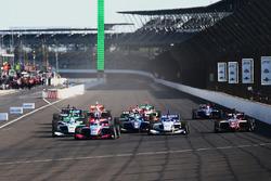 Partenza: Nico Jamin, Andretti Autosport al comando