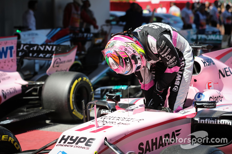 4. Серхио Перес, Force India