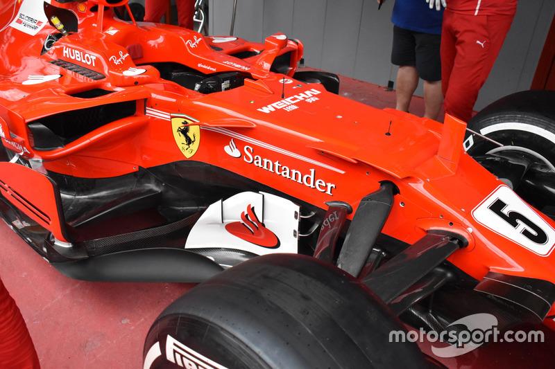 Ferrari SF70H, фрагмент
