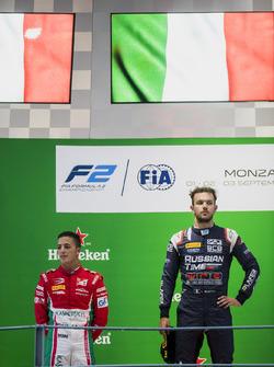 Antonio Fuoco, PREMA Powerteam, Luca Ghiotto, RUSSIAN TIME