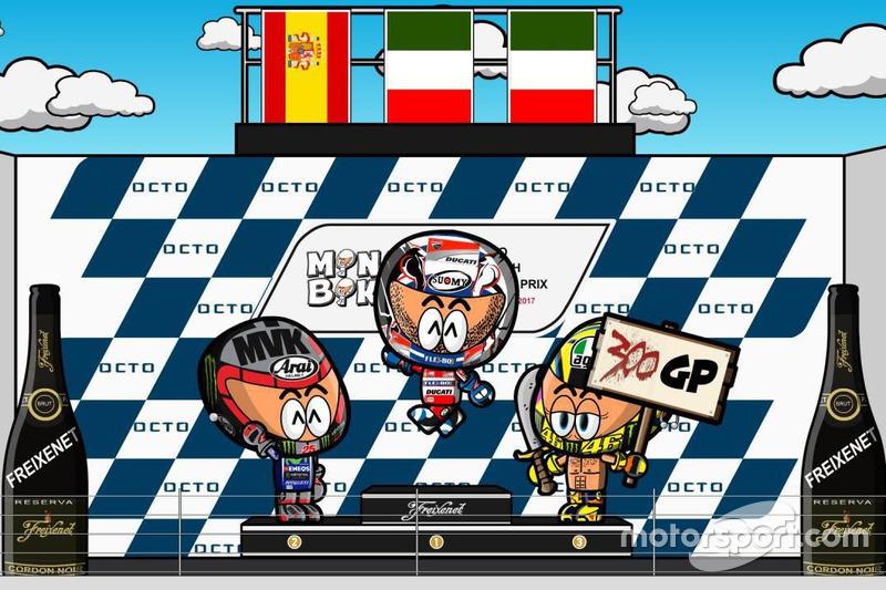 El GP de Gran Bretaña de MotoGP según MiniBikers