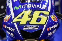 Detail bike, Valentino Rossi, Yamaha Factory Racing