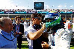 Felipe Massa, Williams, op de startopstelling