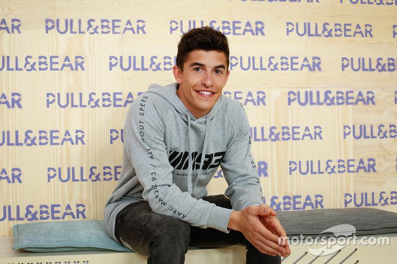 Marc Marquez, Pull & Bear representative