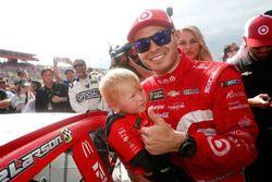 1. Kyle Larson, Chip Ganassi Racing, Chevrolet, mit Sown Owen