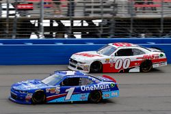 Elliott Sadler, JR Motorsports Chevrolet and Cole Custer, Stewart-Haas Racing Ford