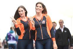 Hot Red Bull KTM Factory Racing girls
