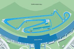 Streckenlayout: ePrix Berlin 2017