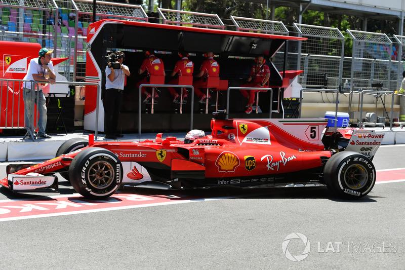 4. Sebastian Vettel, Ferrari SF70H