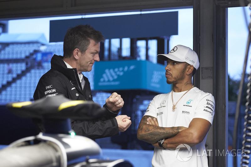 Льюіс Хемілтон, Mercedes AMG F1, технічний директор Mercedes AMG F1 Джеймс Еллісон