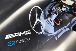 Mercedes AMG F1 W08, dettaglio della carrozzeria