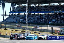 Arrancada, Rob Huff, All-Inkl Motorsport, Citroën C-Elysée WTCC, Nicky Catsburg, Polestar Cyan Racin