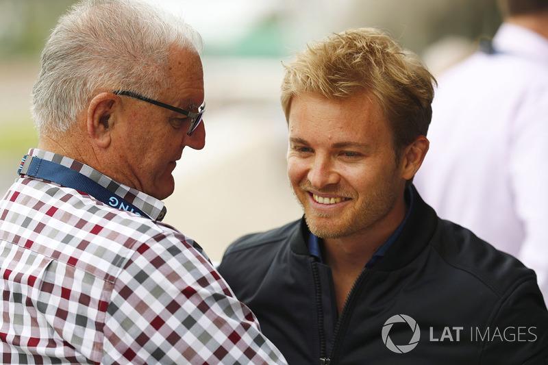 Nico Rosberg, Alan Webber, father of Mark