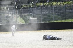 Crash: Maverick Viñales, Yamaha Factory Racing