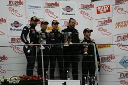 Podio SGTCup gara 2, Cazzaniga-D'amico (Vincenzo Sospiri Racing,Lamborghini Huracan, S.GTCup #116)