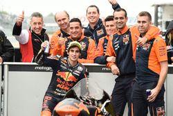 Second place Niccolo Antonelli, Red Bull KTM Ajo