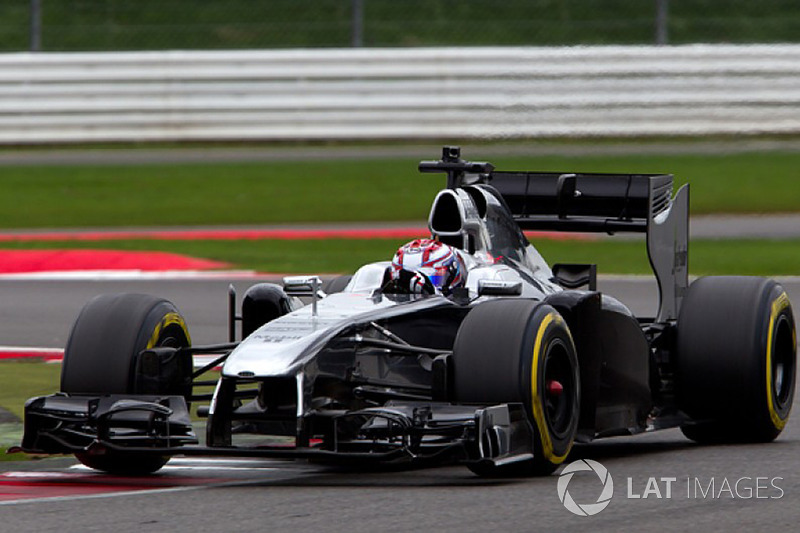 George Russell, McLaren F1 prize test