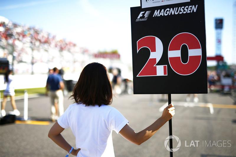 Грід-гьол Кевіна Магнуссена, Haas F1 Team