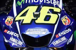 La nuova carena della moto di Ventino Rossi